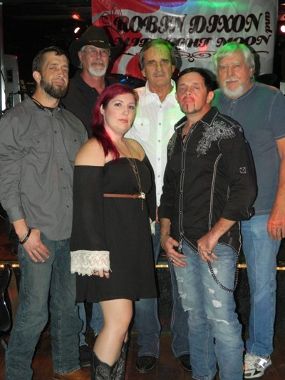 Robin Dixon and her band